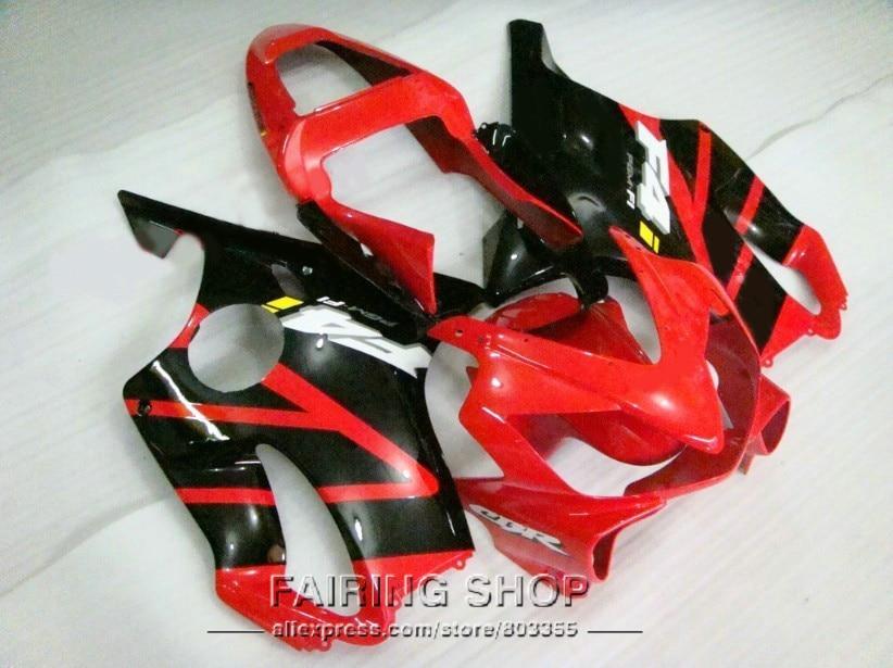 Red Fairing Kit for Honda CBR 600 F4i 600F4i 2001 2002 2003 (100%fit) 01 02 03 Injection fairings ll47