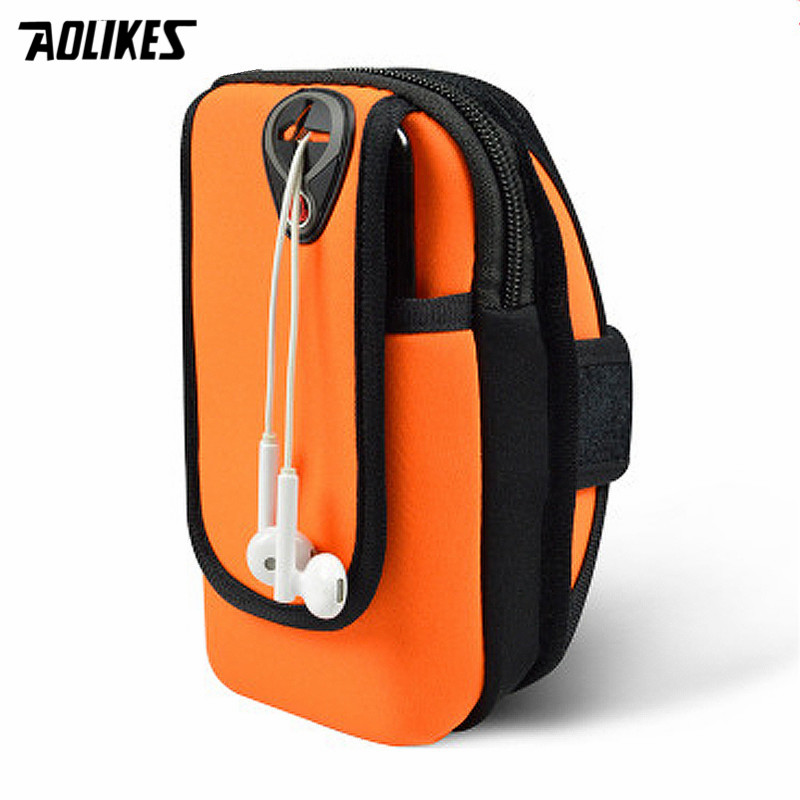 2018 Hot Sale Gym Arm Band Case Cover for <font><b>iPhone</b></font> &#038; More 3~4.9&#8243; / 6.0&#8243; <font><b>Jogging</b></font> Armband Sport Running Bag Pouch Phone <font><b>Accessories</b></font>