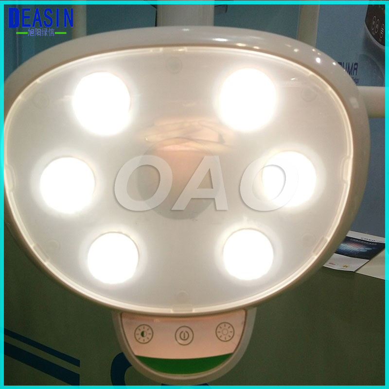 Dental LED lamp with 6 high power LEDs Oral Light Induction Lamp For Dental Unit Chair 100 pcs green 5 08mm pitch 2 pin 2 way screw terminal block plug connector 2edg