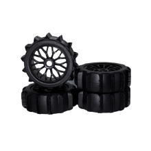 RC 1/8 RC Off Road Buggy Snow Sand Paddle Tires/Tyre and Wheels for 1/8 RC Car Buggy KYOSHO HPI LOSI HSP 4pcs 1 8 rc off road buggy snow sand paddle tires tyre and wheels for 1 8 rc car