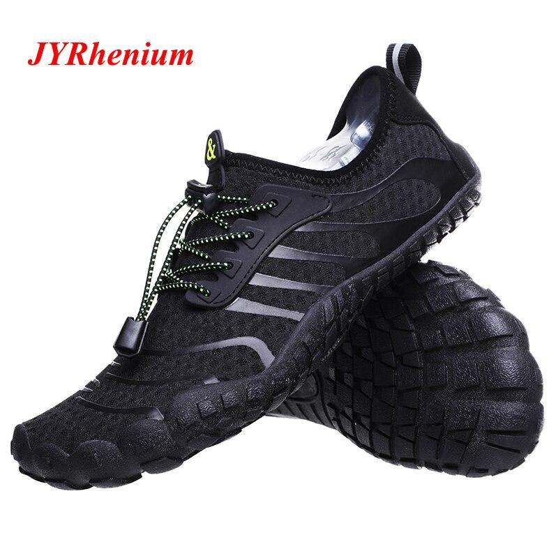 2019 Novo Verão 35-47 Homens Tênis para caminhada Ao Ar Livre Sapatos Montanha Caminhadas Mulheres Vadeando Upstream Sapatos Respirável Sapatilhas Mulher