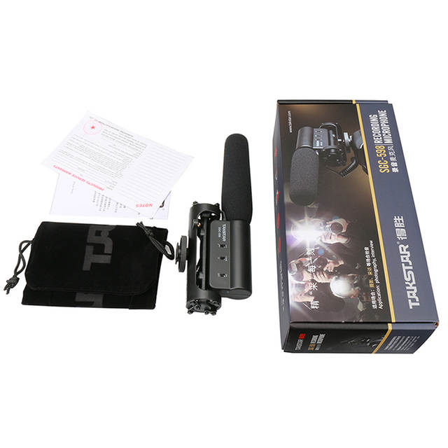 US $25 69 30% OFF|Takstar SGC 598 Video Microphone Camera Interview Video  Recording Vlog Mic for DSLR Camera Nikon Canon Condenser Microphone-in