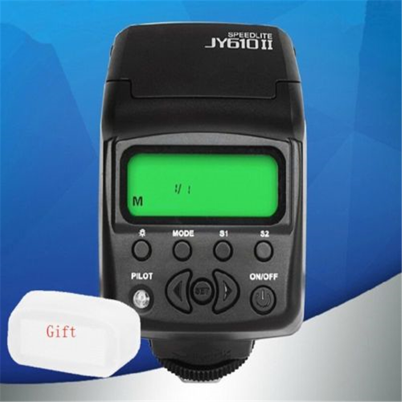 Viltrox JY 610 II Mini LCD Camera Flash Speedlite for Canon Nikon Sony Pentax Olympus camera universal camera inseesi in 560 iv plus wireless flash or viltrox jy 680a flash speedlite with lcd screen for canon nikon pentax