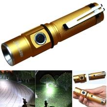 DIU# 3000 Lumens CREE XPE Q5 LED 3 Modes Aluminum Mini Skid-proof Design Protable Flashlight Torch Light Free Shipping