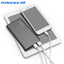 PINENG PN-958 10000MAH Power Bank Large Capacity Moble Phone External Battery Charger Power Supply For Iphone For Samsung Tablet