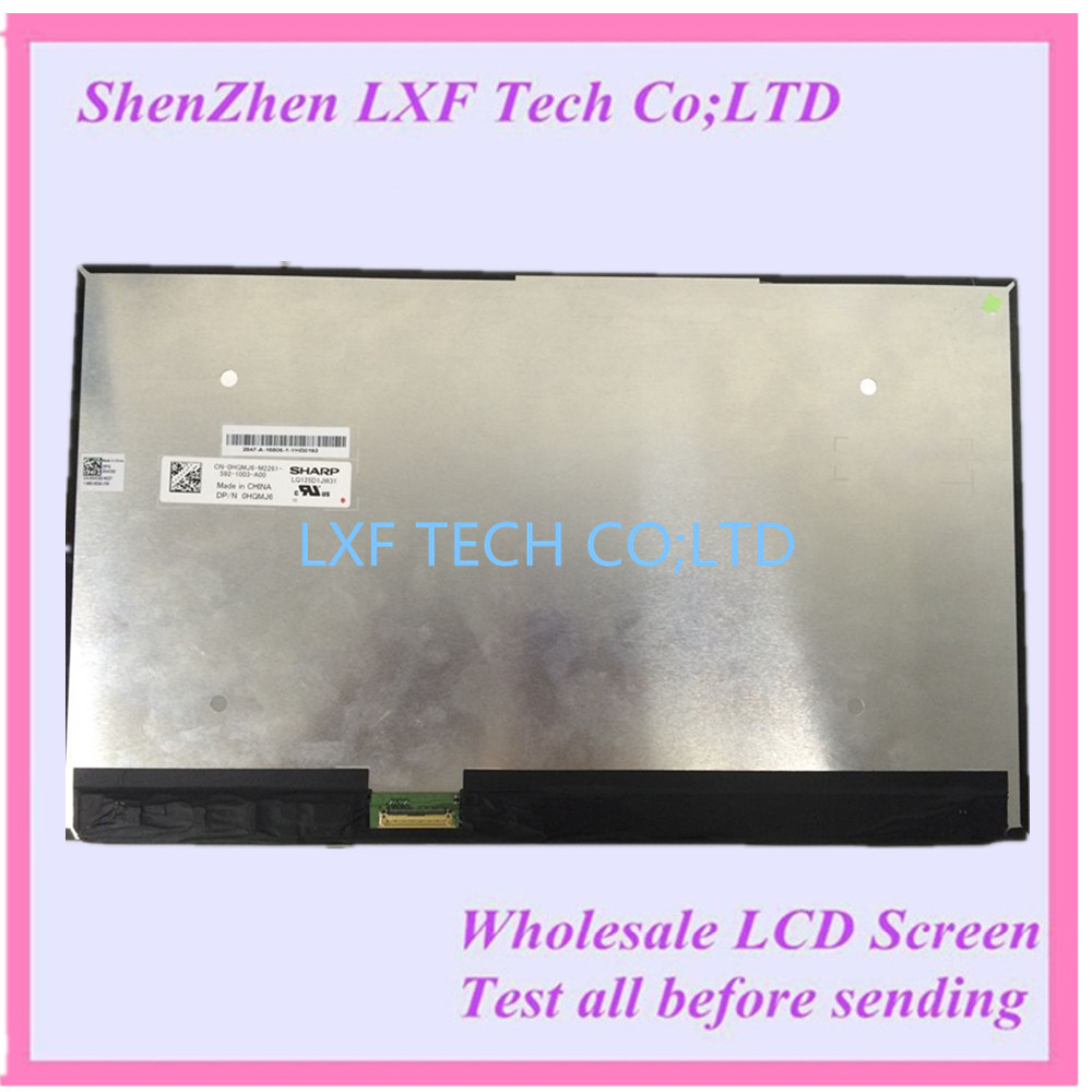 FOR Sharp new 4K screen LQ125D1JW31 For Dell 0HGMJ6 3840X2160 Display Non-touch