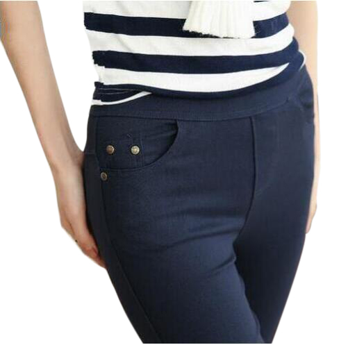 Free Shipping 2017 New Arrival Women Casual Cotton Full Length Leggings Autumn Letter Printed Slim Leggings Plus-Size S-5XL