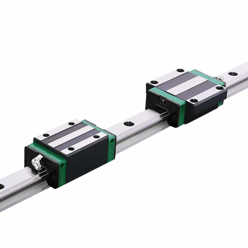 High Precision Grade C/H/P Linear Guide Slider HGH HGW HGL 20 CA CC HA HC Square Flange Type Woodworking Lathe Grinding Machine