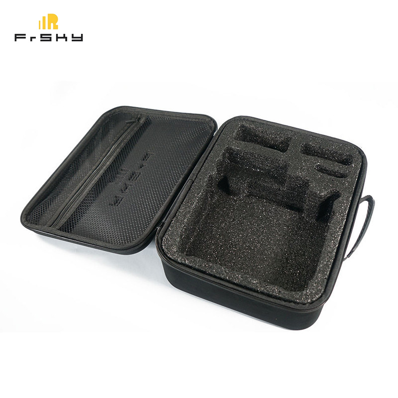 RC Transmitter Handbag Frsky EVA Taranis Q X7S / X9D Plus SE Radio Transmitter Remote Controller Hardshell Suitcase Carrying Bag update version frsky hours x10s 2 4g 16ch transmitter remote controller tx built in ixjt module for rc drone