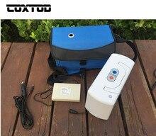 Coxtod Батарея работает концентратор кислорода генератор путешествия автомобиль Применение с мешком