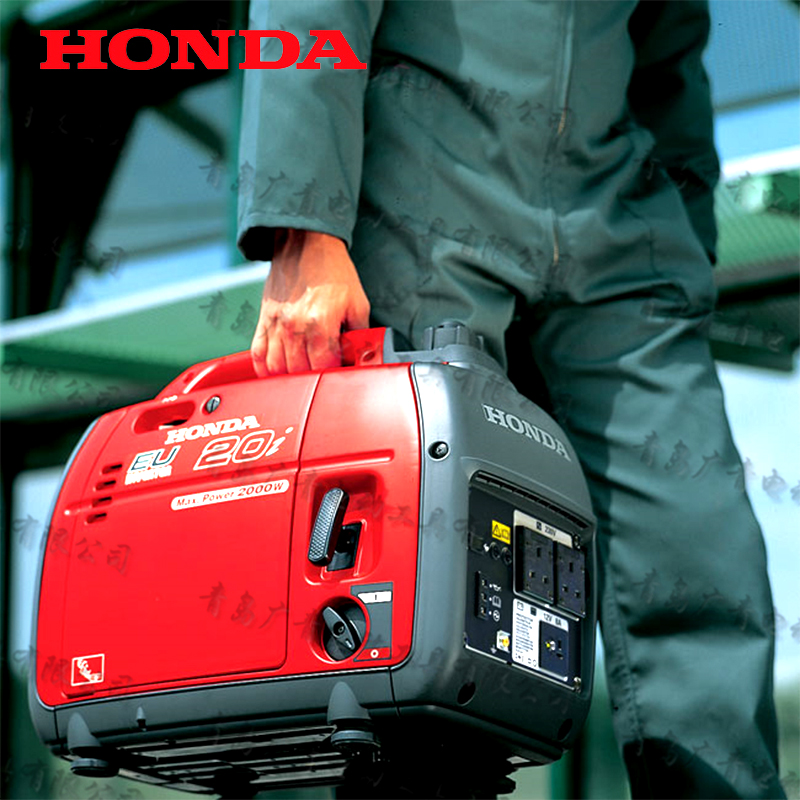 Japan <font><b>HONDA</b></font> <font><b>EU20i</b></font> <font><b>generator</b></font> Portable gasoline Ultra-quiet frequency conversion <font><b>Generator</b></font> 2kw 50Hz OHC engine Save fuel image
