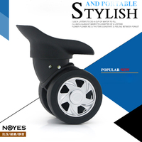 DIY Luggage Replacement Spinner Wheels Repair Trolley Suitcase Luggage Parts Accessories Wheels W120