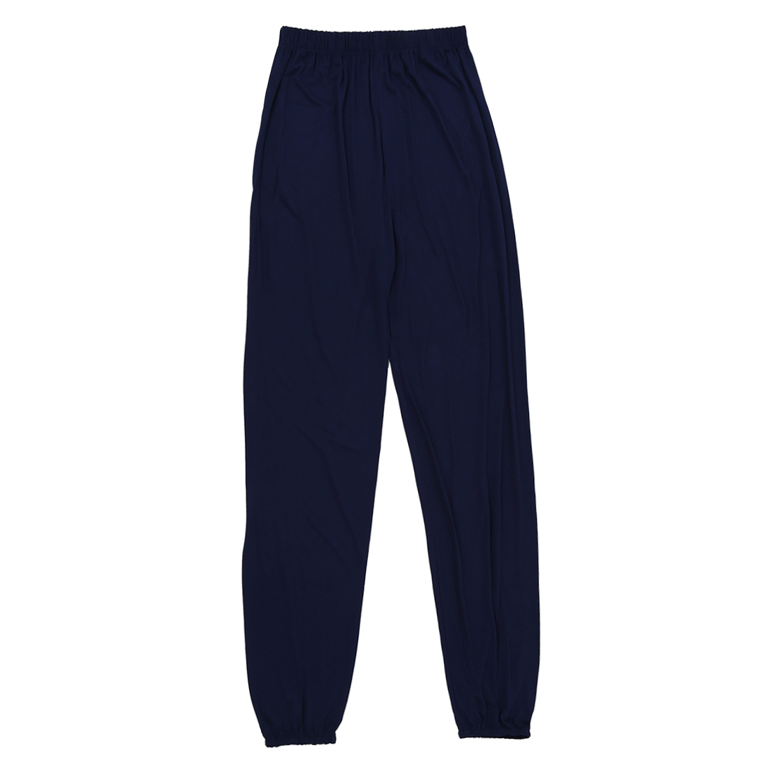 yoga pants Loose Modal bloomers pants home tai chi harem joggers sweat Pants both men and women-Dark Blue