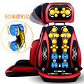Cuello cojín de masaje hogar 5D compresas calientes de todo el cuerpo silla de masaje Shiatsu amasado vibraciones masaje de espalda dispositivo 110-240 V