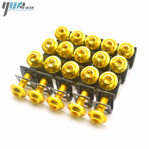 Image 5 - 20 PCS Motorcycle M6 Fairing Bolts Screws For Triumph tiger 800/xc BMW S1000RR S1000R K1200sS F650 F800gs 2013 2014 2015 2016
