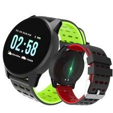 d49c2eeea بلوتوث ساعة ذكية الرجال النساء الرقمية ووتش الرياضة اللياقة ساعة القلب معدل  الدم مراقبة ضغط Smartwatch ساعة عداد خطى