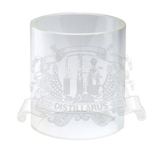 Borosilicate glass, outer diameter 80mm ,  lenght 100mm . For 3″  glass column .