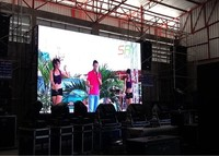 P8 Outdoor Rgb Led Display Screen 512 512mm Led Die Cast Aluminum Cabinet Rent Led Screen