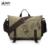 Manjianghong 2017 versión coreana de la multi-funcional bolsa equipo hombres de bolso de hombro de la lona bolsa de ocio bolsa de mensajero 1146