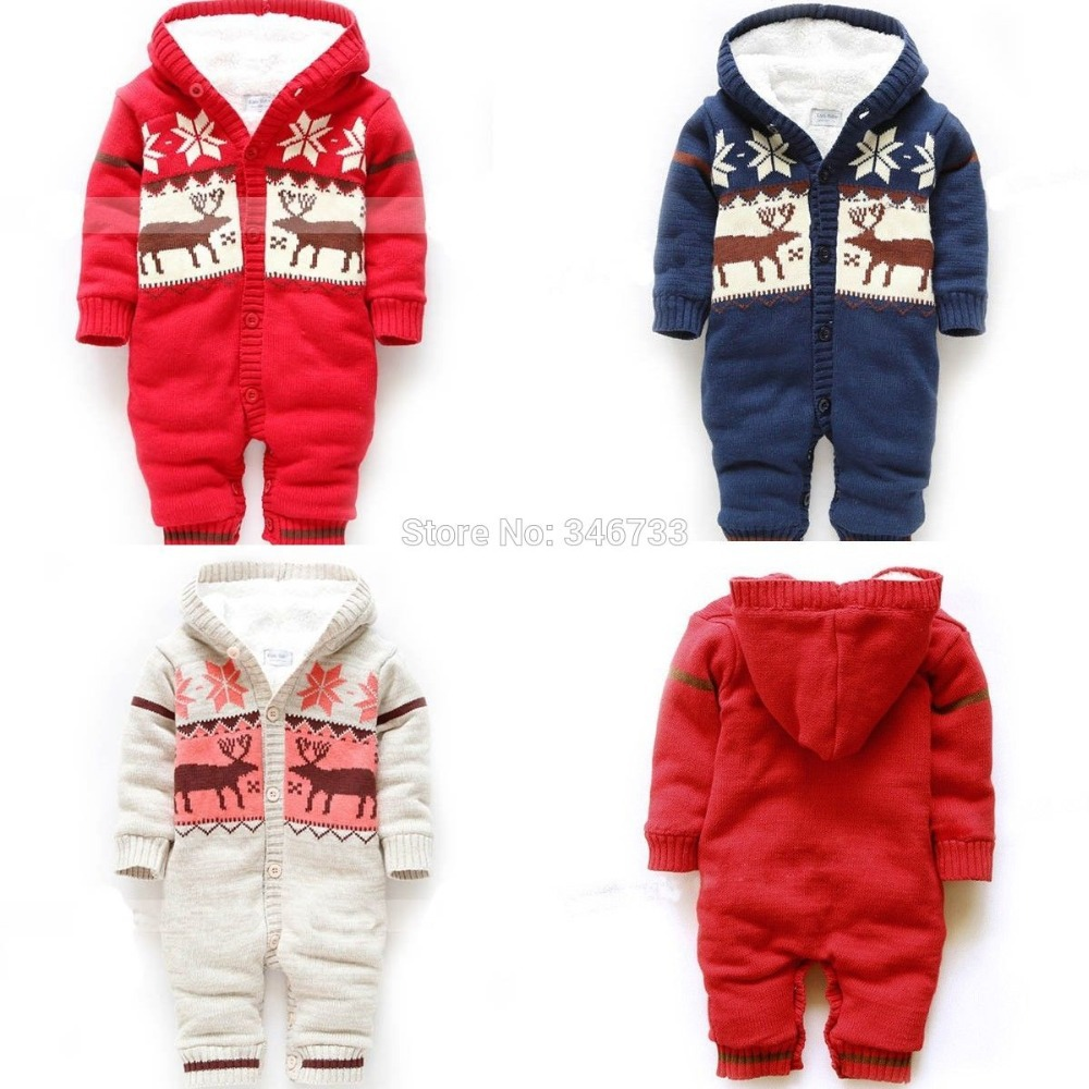 angel new baby toddler onesie warm knitted christmas bodysuit jumpsuit coverall beautiful sweet childhood in clothing sets from mother kids on