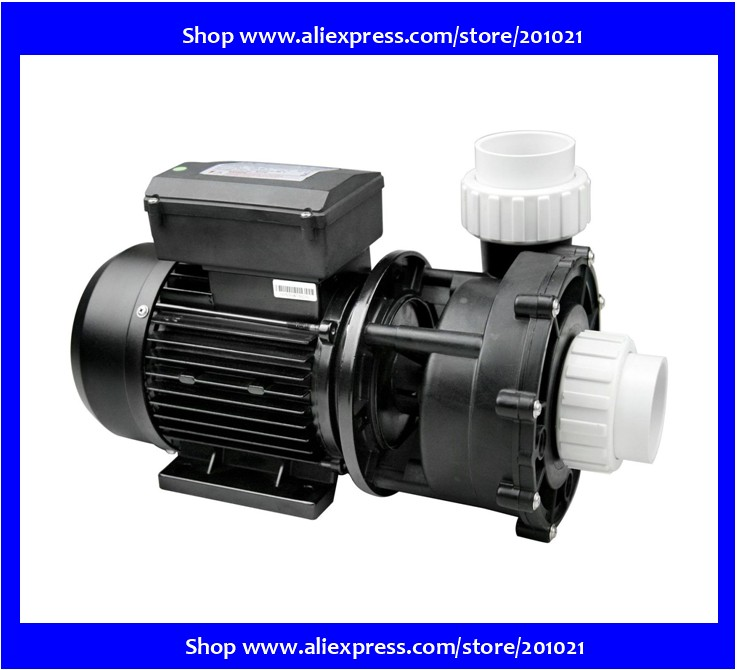 Pompe de massagem Bi-vitesse WP200II-2hp LX 2 de Alta velocidade velocidade Hmax 14 m Qmax 620L/min Baixa Velocidade Hmax 3.5 m Qmax 280L/min