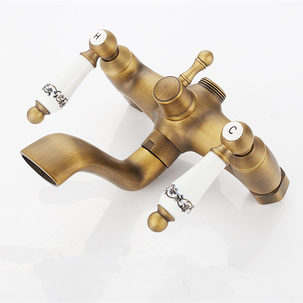 Aliexpress.com : Buy Shower Faucets Antique Bathroom Taps Shower ...