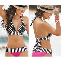 Split Bikini Suit Low Waist Dots Bikini Female Swimsuit Europe And The United States Sexy Swimsuit