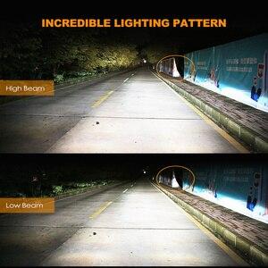 Image 4 - 2Pcs H4 LED H7 H11 H8 9006 HB4 H1 H3 HB3 H9 H27 Auto Scheinwerfer Lampen LED Lampe mit 1515 Chips 12000LM Auto Nebel Lichter 6000K 12V