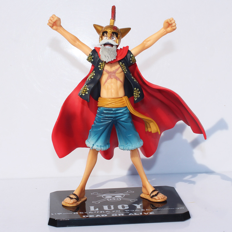 One Piece Dead or Alive Lucy Monkey D Luffy PVC Action Figures Collectible Toy 6.5 16CM Figuarts ZERO Anime  kunai pet alive or just breathing cd
