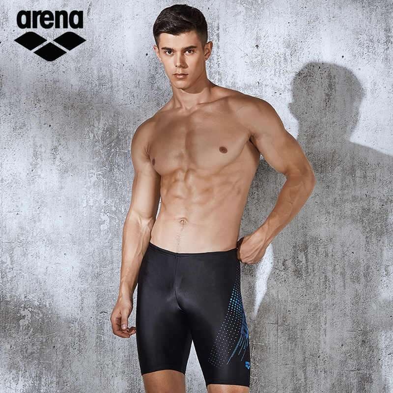 Arena Mens Swimming Trunk Fashionable Comfortable Quick-Dry Swimming Pants Large Size Sports Type Swim Suit