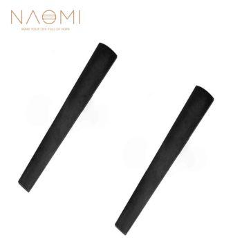 NAOMI 2 sztuk skrzypce podstrunnica 4 4 heban podstrunnica skrzypce akcesoria skrzypce część na skrzypce 4 4 tanie i dobre opinie Skrzypce użytkowania 100908-710(4 4)