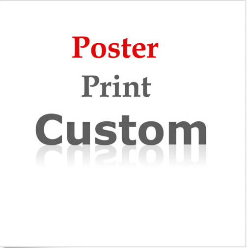 Buyer Custom Posters Print, Silk Or Canvas Print