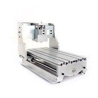 Мини ЧПУ 3020 токарный станок рамка гравер фрезерный станок базовый кронштейн шариковый винт Опционально для DIY ЧПУ маршрутизатор 3d принтер