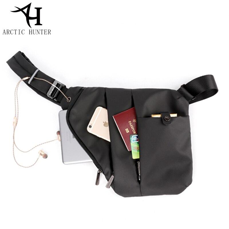 6a6175924e ARCTIC HUNTER Brand Messenger Bag Casual Business Shoulder Crossbody Bags  Men Travel Fashion Bag Anti Theft Chest Pack Black