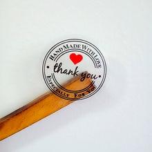 Étiquettes autocollantes Vintage transparentes, lot de 100 pièces, étiquettes rondes Kraft