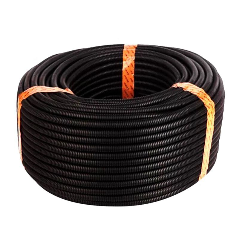 100 Ft 5/8 inch IN Split Wire Loom Conduit Corrugated Polyethylene Tubing Sleeve Tube