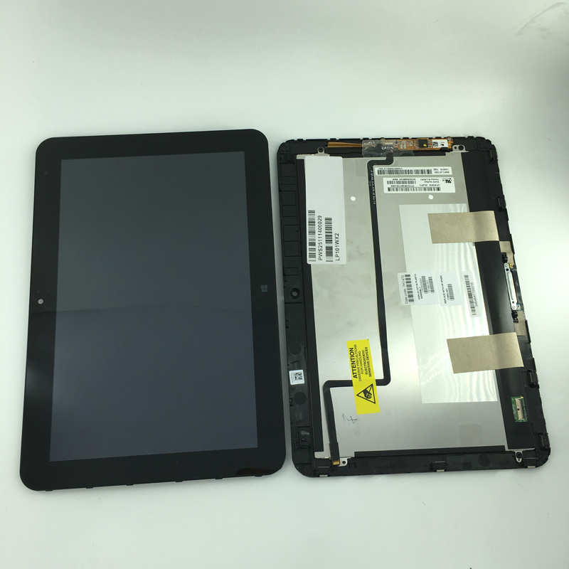 все цены на  High quality LP101WX2 SLP1 LCD display + touch screen digitizer Assembly Replacement Parts For HP Elitepad 900  онлайн