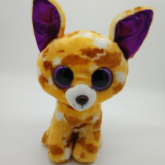c9188af9e01 PABLO - chihuahua TY BEANIE BOOS 1PC 25CM BIG EYE Plush Toys Stuffed animals  KIDS TOYS