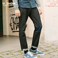 VIISHOW Black Jeans Men Robin Men'S Pants Masculina Pantalones Vaqueros Hombre Jean Homme Distressed Patchwork male denim Jeans