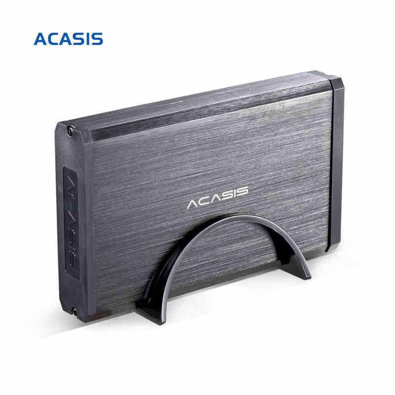 10059TW High Quality Aluminum Alloy Acasis BA-06US 3.5 Inch USB 3.0 To SATA External HDD Enclosure 4TB Hard Drive Case Black aluminum alloy usb 3 0 2 5 sata external case hdd enclosure black