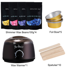 Hair Removal Electric Wax Warmer Machine & Hair Removal Machine Heater with Bean