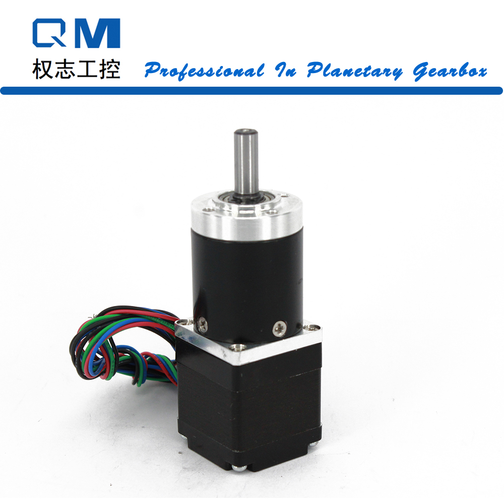 Фотография Nema 11 Stepper Motor 30mm 4-Lead Gear Stepper Motor 1.2Nm     Gear Ratio 20:1   Planetary Gearbox CNC Robot 3D Printer Pump