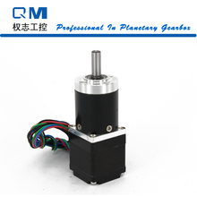 Nema 11 Stepper Motor 30mm 4-Lead Gear Stepper Motor 1.2Nm Gear Ratio 20:1 Planetary Gearbox CNC Robot 3D Printer Pump