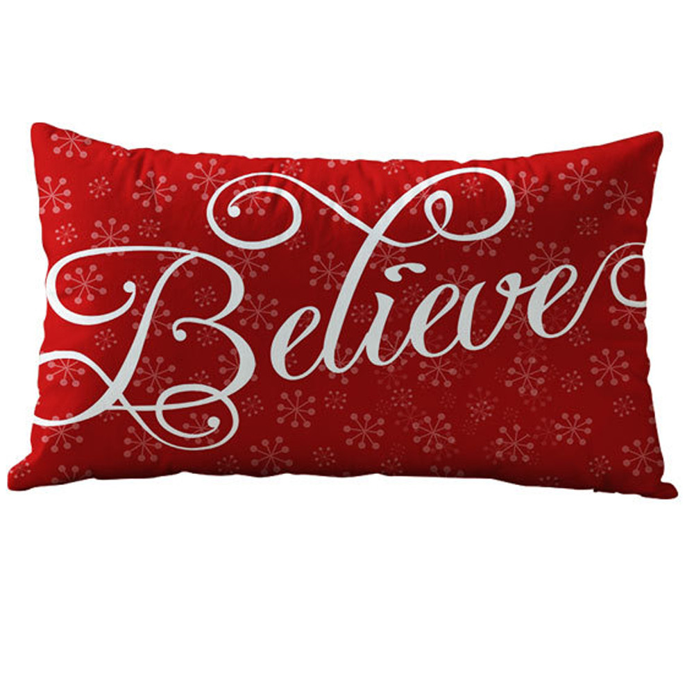 US $2.52 24% OFF|Christmas Rectangle Pillows High Quality Cotton Linter  Pillow Cases Accessories Home Christmas Decor Pillowcases Cushion Cover-in  ...