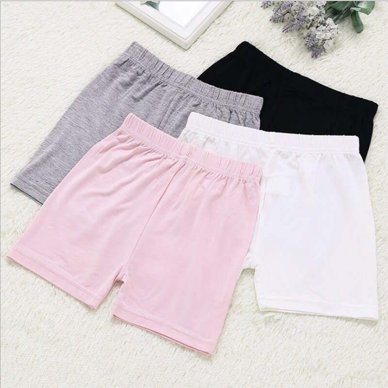 Girls Safety Shorts Underwear Kids Briefs Girls Shorts Breathable Short Tights For Girls Shorts
