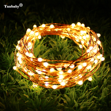 Copper Wire Solar String Fairy Lights 10M 20M Rope Lighting
