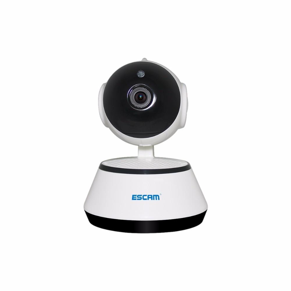ESCAM G10 720 p IP Drahtlose Kamera Unterstützung Motion Erkennung H.264 Pan/Tilt Unterstützung 64g TF KARTE Mini wifi Nachtsicht IP Kamera