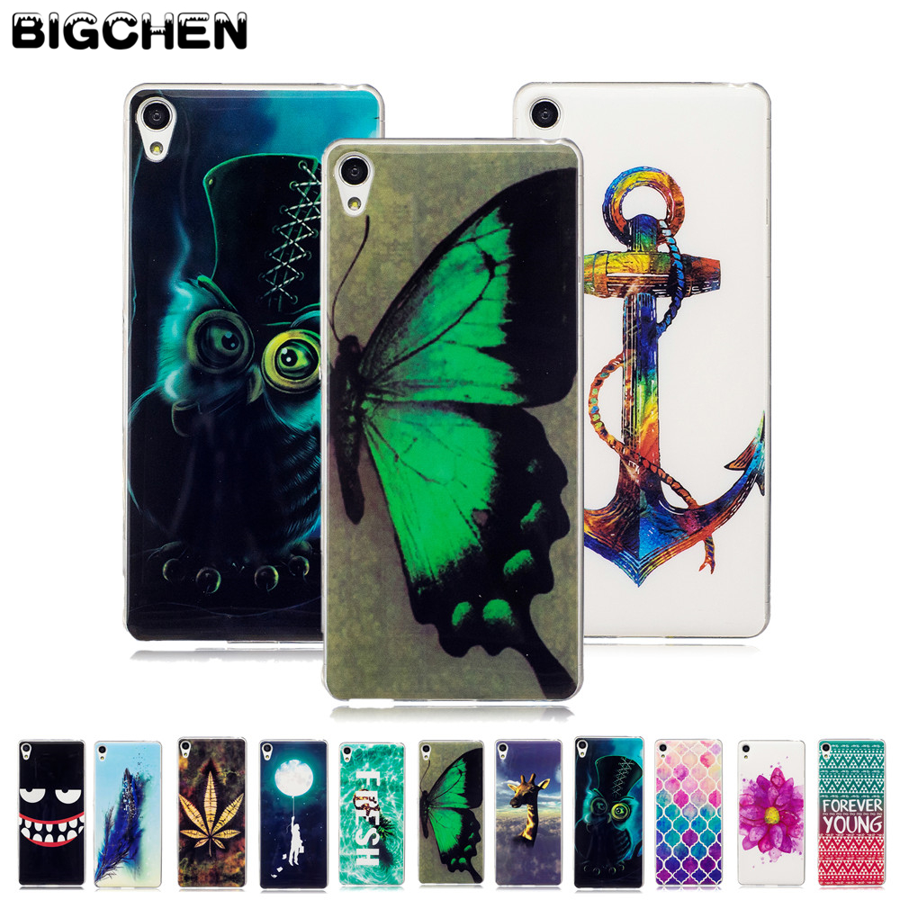 For Sony Xperia XA Case Glossy TPU Back Cover Case For Sony Xperia XA F3111 F3113 F3115 Case Silicone Soft Protective Phone Bag
