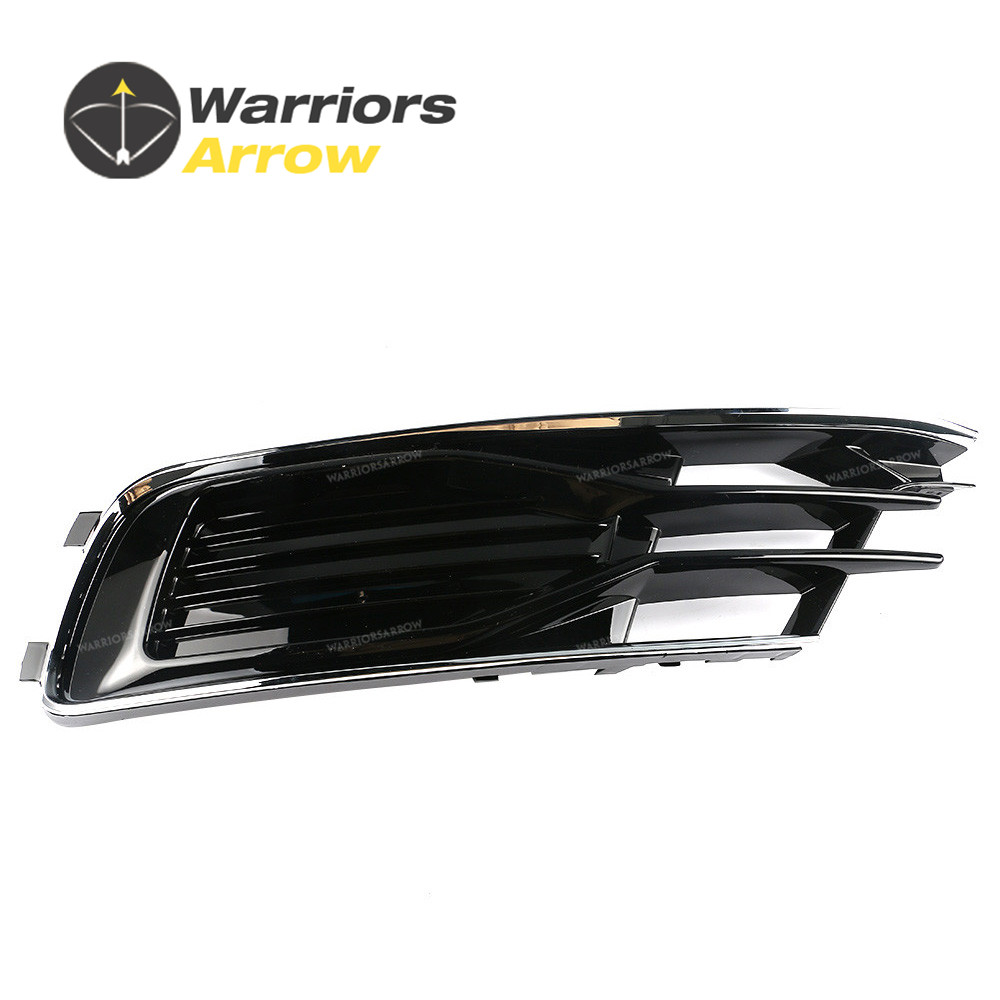 4G0807647 For Audi A6 S6 Avant Quattro 2015 2016 Left Side Front Bumper Lower Grill image