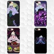 The Little Mermaid Ursula For Samsung Galaxy Note 4 8 9 S3 S4 S5 S6 S7 S8 S9 S10 Edge Plus Lite I9080 G313 TPU Cover Case(China)
